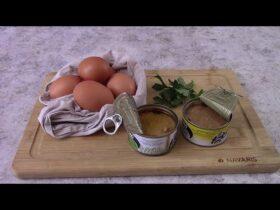 solo uova e tonno per una cena facile veloce ed economica